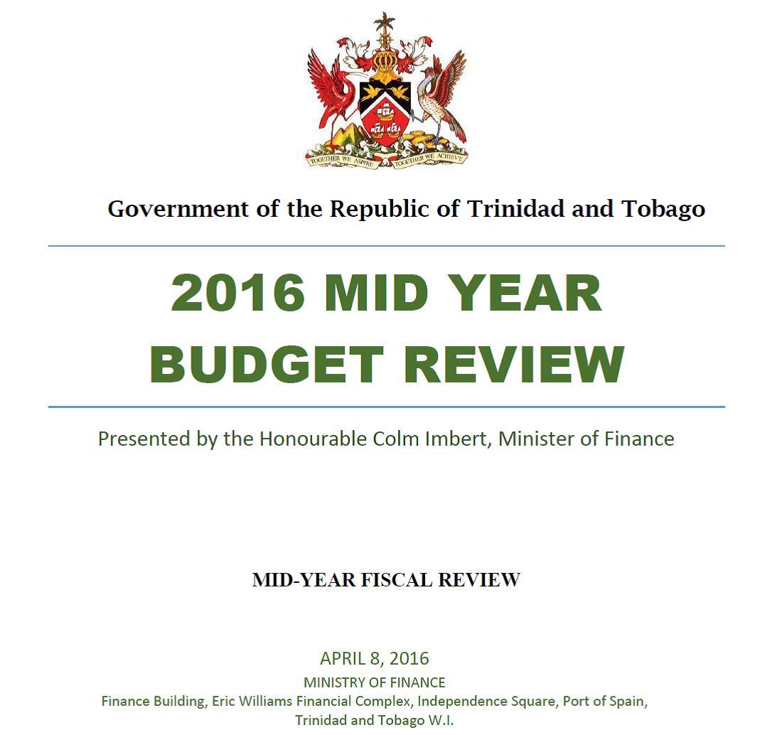 Finance Review: Trinidad And Tobago Computer Society