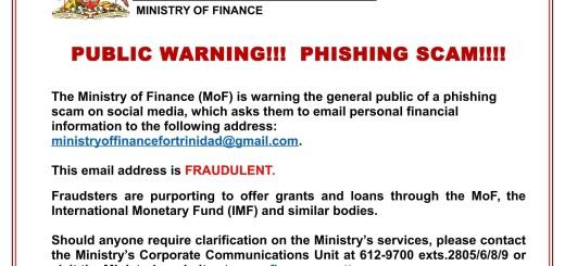 Media Release - Public Warning- Phishing Scam Poster-1